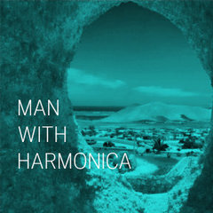 Rek33101 cinematic man with harmonica